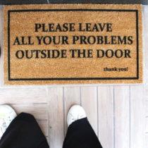 Rohožka Doormat Problems, 70×40 cm
