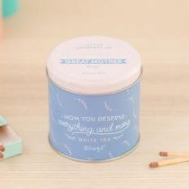 Sviečka s vôňou bieleho čaju Mr. Wonderful Little moments, 15...