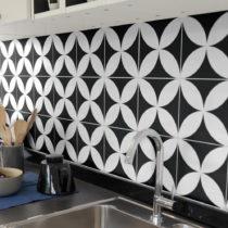 Sada 9 nástenných samolepiek Ambiance Wall Decal Tiles Enzo, 15&#xD7...