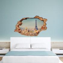 Samolepka Paris View