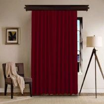 Červený záves Bordeaux, 140 x 260 cm