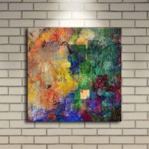 Podsvietený obraz Jamie, 40×40 cm