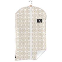 Béžový obal na oblek Domopak Ella, dĺžka 100&#xA...