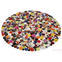 Vzorovaný koberec Kare Design Multi, Ø150 cm