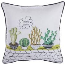 Obliečka na vankúš Apolena Lovely Cactus, 43×&#x...