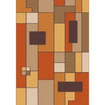 Oranžovo-hnedý koberec Universal Boras Rust, 133 x 190 cm