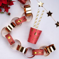 Papierová reťaz Neviti Dazzling Christmas