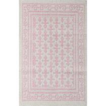 Svetloružový koberec Jamila, 140×200 cm