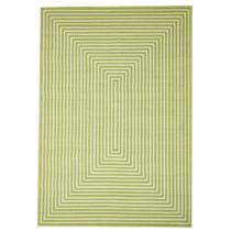 Zelený vysokoodolný koberec vhodný do exteriéru Floorita Braid, ...
