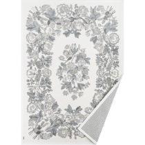 Bielo-sivý vzorovaný obojstranný koberec Narma Lihula, 230&...