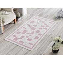 Koberec Pink Tiles, 80 x 200 cm