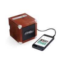 Prenosný reproduktor Luckies of London Smartphone Speaker Brown