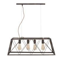 Závesná lampa Mauro Ferretti Manhattan, 78 cm