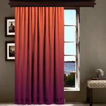 Oranžovo-fialový záves Curtain Lesslie, 140×&#xA0...
