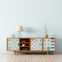 Sada 30 samolepiek na nábytok Ambiance Tiles Stickers For Furniture Angia, 20&...