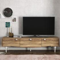 TV komoda v orechovom dekore Kumsal