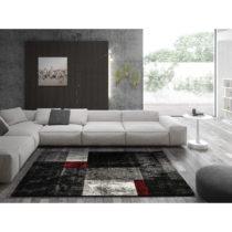 Tmavosivý koberec Universal Skat, 120 × 170 cm