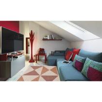 Vysokoodolný koberec vhodný do exteriéru Floorita Geo, 135&...