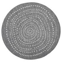 Sivý obojstranný koberec vhodný aj do e×teriéru Bougari...