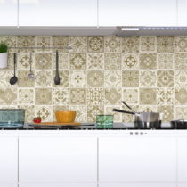 Sada 60 nástenných samolepiek Ambiance Wall Decal Cement Tiles Fortunato, 15&#...
