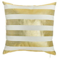 Obliečka na vankúš Apolena Golden Stripes, 45×&#...