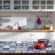 Sada 30 samolepiek na nábytok Ambiance Tiles Stickers For Furniture Lubina, 15&am...
