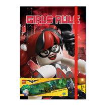 Zápisník LEGO® Batman Batgirl Harley Quinn