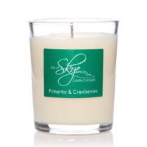 Sviečka s vôňou bobuľového ovocia, korenia a klin&am...