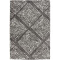 Tmavosivý koberec Mint Rugs Allure Grey II, 160 x 230 cm