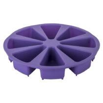 Fialová silikónová forma na naporcovanú tortu Tantitoni Dessert,...