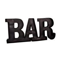 Kovový nápis Antic Line Bar