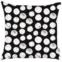 Čierno-biela obliečka na vankúš Apolena Dots, 43&am...