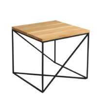 Konferenčný stolík s doskou v dekore dubového dreva Custom Form...