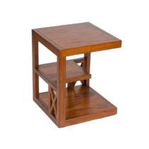 Príručný stolík z dreva mindi Santiago Pons Dario