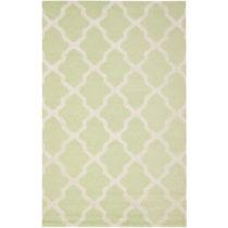 Vlnený koberec Ava Light Green, 182×274 cm