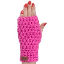 Ružové ručne háčkované návleky DOK...