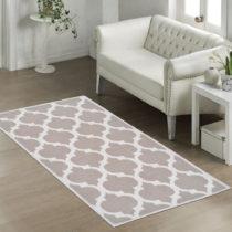 Odolný koberec Vitaus Madalyon Bej, 80×150cm