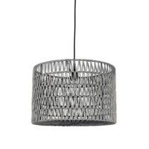 Sivé stropné svietidlo LABEL51 Stripe