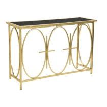 Konzolový stolík so železnou konštrukciou Mauro Ferretti Alesa...