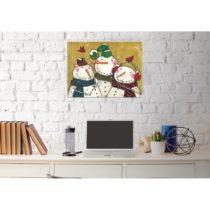 Obraz na plátne Snowman, 30 x 40 cm