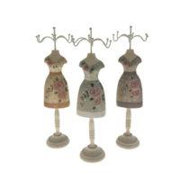 Sada 3 drevených stojanov na šperky Antic Line Rasso