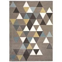 Koberec Universal Gris Multi Triangle, 60×120 cm