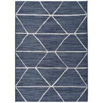 Modrý koberec Universal Azul Elba, 60×110 cm