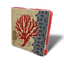 Vankúš na sedenie s výplňou Gravel Red Tree I, 42&am...