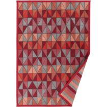Červený vzorovaný obojstranný koberec Narma Treski, 140 &#x...