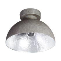 Stropné svietidlo v sivej a striebornej farbe ETH Mezzo Tondo
