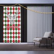 Vianočný záves Animal, 140 x 260 cm