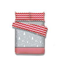 Flanelové posteľné obliečky AmeliaHome Christmas Mess, 135&...