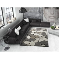 Sivý koberec Universal Pebble, 160×230cm