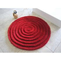 Kúpeľňová predložka Round Red, Ø9...